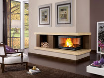 contemporary mantel for corner fireplace (marble) BRENTA  Nordica