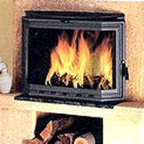 contemporary mantel for fireplace (stone) P-204 HERGOM
