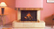 contemporary mantel for fireplace (stone) P-402 HERGOM
