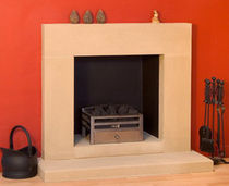 contemporary mantel for fireplace (stone)  Stancliffe Stone
