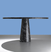 contemporary marble round table MANGIAROTTI: EROS Agapecasa