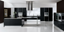 contemporary matt lacquer / aluminium kitchen DOLCEVITA CHIC Corazzin Group - Contract & hotel