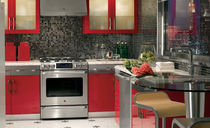 contemporary matt lacquer / aluminium kitchen BENTWOOD CUSTOM bentwood Luxury Kitchens