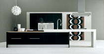 contemporary matt lacquer kitchen IRIDE copat