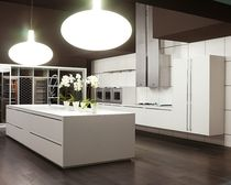 contemporary matt lacquer kitchen VISION MK CUCINE