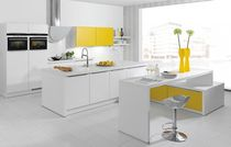 contemporary matt lacquer kitchen SINUS 2870  Brigitte