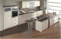 contemporary matt lacquer kitchen SINUS 2336 Brigitte