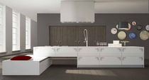 contemporary matt lacquer kitchen CRISTAL AND ECLISSE Corazzin Group - Contract & hotel