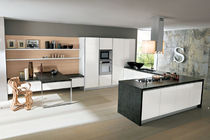 contemporary matt lacquer kitchen LEONARDO '08 Corazzin Group - Contract & hotel