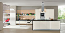 contemporary matt lacquer kitchen AURORA NEW Corazzin Group - Contract &amp; hotel