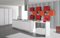 contemporary matt lacquer kitchen DOLCEVITA TRENDY Corazzin Group - Contract & hotel