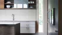 contemporary matt lacquer kitchen  Henrybuilt