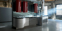 contemporary melamine kitchen  ALESSI