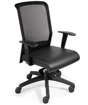 contemporary mesh office armchair TECTON Sedia Systems