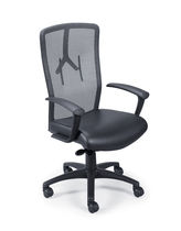contemporary mesh office armchair SLINGSHOT PAOLI