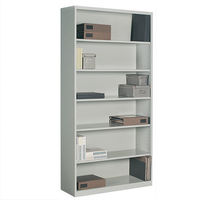 contemporary metal bookcase 93BC-3672 GLOBAL totaloffice