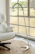 contemporary metal floor lamp (adjustable) athene® 700.04 less'n'more