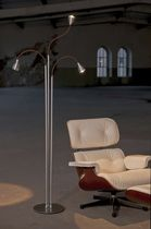 contemporary metal floor lamp (adjustable) ATHENE® 700.19 less'n'more