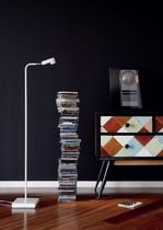 contemporary metal floor lamp LEDPIPE by Joan Gaspar Marset Iluminacion