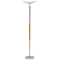 contemporary metal floor lamp ELYS ALBA