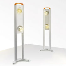 contemporary metal floor lamp BUSY CDS - LED  SEAE