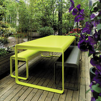contemporary metal garden table BELLEVIE by Pagnon Pelha&icirc;tre FERMOB