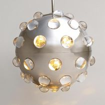 contemporary metal pendant lamp GLOBES : ALDRIN VAUGHAN