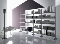 contemporary metal shelf by E.Mari and P.Reina DELTA Robots