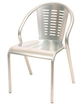 contemporary metal stacking chair PERFECTO ISA International