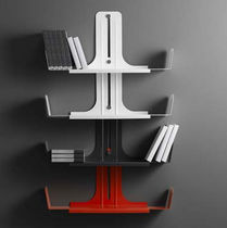 contemporary metal wall shelf ALIBOOK by Denis Santachiara Domodinamica by Modular