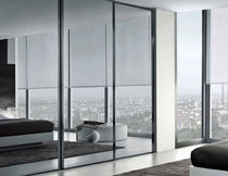 contemporary mirrored wardrobe NEOLUX  GAB