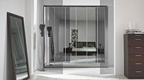 contemporary mirrored wardrobe GOLF: 432 Colombini