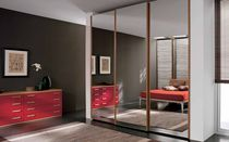 contemporary mirrored wardrobe 109 A Marka Industria Mobili