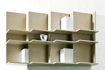 contemporary modular bookcase ONDA BERTO SALOTTI