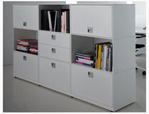contemporary modular bookcase T BOX MSL Interiors Ltd