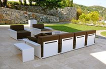 contemporary modular garden sofa 4 INSIDE &amp; OUT LOUNGE RADIUS DESIGN