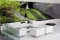 contemporary modular garden sofa LAZY by Kris Van Puyvelde Royal Botania - Red Label