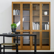 contemporary modular glass front bookcase KA72: 733 by Göran Malmvall KARL ANDERSSON