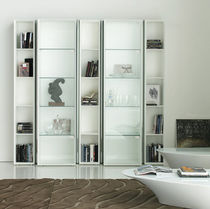 contemporary modular lacquered bookcase TAG by Pierluigi Stella cattelan italia