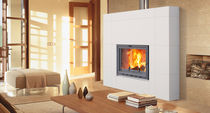 contemporary modular mantel for fireplace EL MURO HERGOM