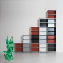 contemporary modular metal shelf STAIR Fitting