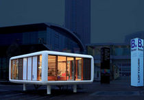 contemporary modular prefab building for event LC55H loftcube