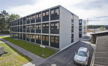 contemporary modular prefab building for offices BASIC PLUS ALHO Systembau GmbH
