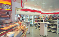 contemporary modular prefab building for retail ESSO ALHO Systembau GmbH