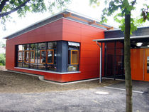 contemporary modular prefab building for school WUPPERTAL, IM HOFE Bolle