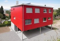 contemporary modular prefab house  Haring Engineering Ltd