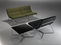 contemporary modular upholstered bench LINK by Biagio Cisotti &amp; Sandra Labue Casprini Gruppo Industriale