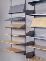 contemporary modular wooden and metal shelf ART. 70000 AB HYLLTEKNIK