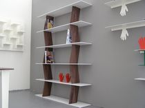 contemporary modular wooden and metal shelf SPIGOLA KING & MIRANDA DESIGN EMOH