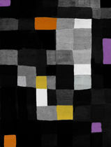 contemporary motif rug (handmade) NOVEL By Second Studio
